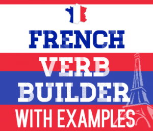 French verb builder examples