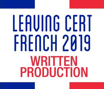 FRENCH MAY REVISION COURSE Part 3 – Written Production course image