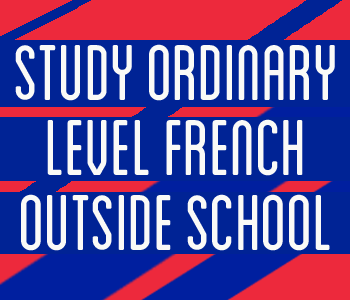 STUDY ORDINARY LEVEL FRENCH OUTSIDE SCHOOL course image