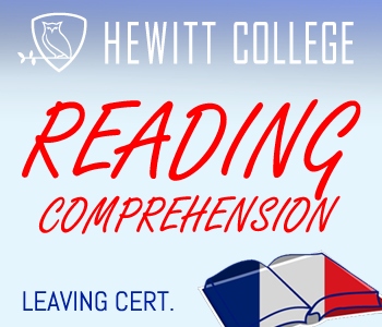 READING COMPREHENSION-Leaving Certificate course image