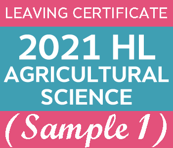 2021 Exam Paper Solution | Leaving Certificate | Higher Level | Agricultural Science (Sample 1) course image