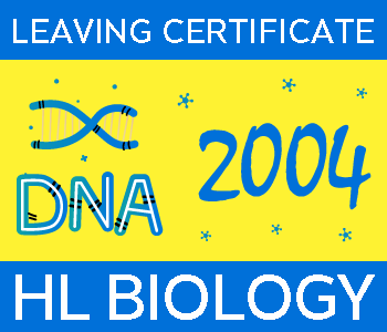 2004 Exam Paper Solution | Leaving Certificate | Higher Level | Biology course image
