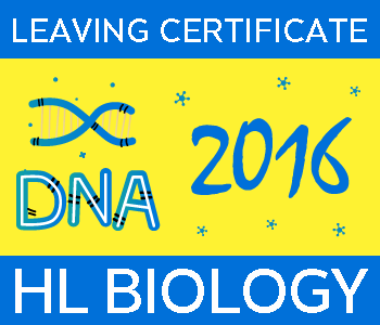 Leaving Certificate Biology | Higher Level | 2016 Exam Paper Solution course image