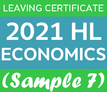 2021 Exam Paper Solution | Leaving Certificate | Higher Level | Economics (Sample 7) course image