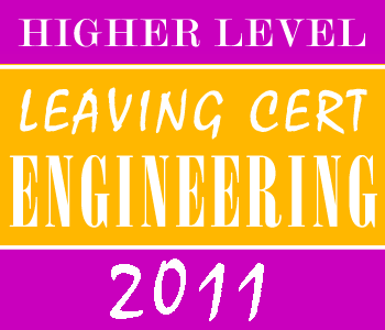 2011 Exam Paper Solution | Leaving Certificate | Higher Level | Engineering course image