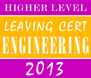 2013 Exam Paper Solution | Leaving Certificate | Higher Level | Engineering course image
