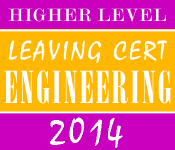 2014 Exam Paper Solution | Leaving Certificate | Higher Level | Engineering course image