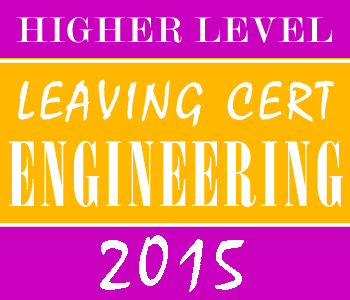 2015 Exam Paper Solution | Leaving Certificate | Higher Level | Engineering course image