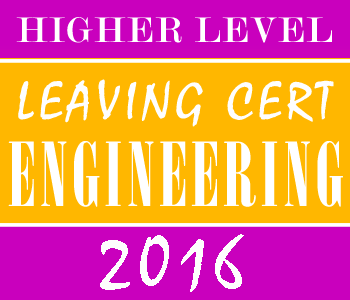 2016 Exam Paper Solution | Leaving Certificate | Higher Level | Engineering course image