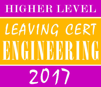 2017 Exam Paper Solution | Leaving Certificate | Higher Level | Engineering course image