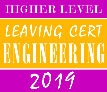 Leaving Certificate Engineering | Higher Level | 2019 Exam Paper Solution course image