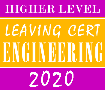 Leaving Certificate Engineering | Higher Level | 2020 Exam Paper Solution course image