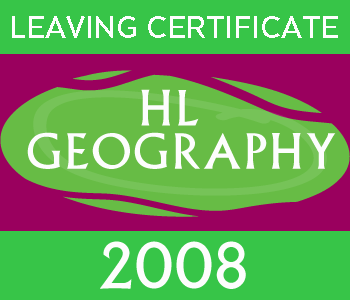 2008 Exam Paper Solution | Leaving Certificate | Higher Level | Geography course image