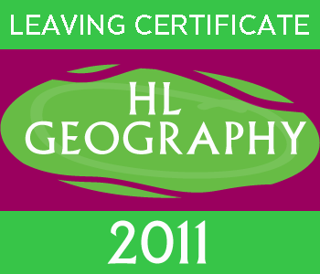 Leaving Certificate Geography | Higher Level | 2011 Exam paper course image