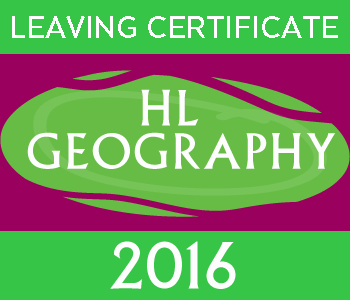 Leaving Certificate Geography | Higher Level | 2016 Exam Paper course image