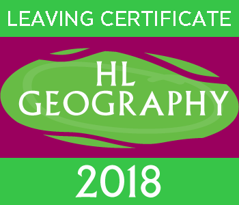 Leaving Certificate Geography | Higher Level | 2018 Exam Paper course image