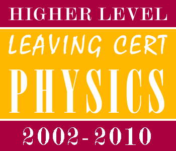 2002-2010 Exam Paper Solutions | Leaving Certificate | Higher Level | Physics course image