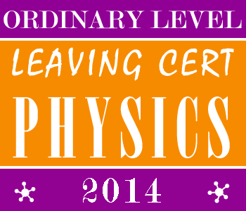 2014 Exam Paper Solution | Leaving Certificate | Ordinary Level | Physics course image