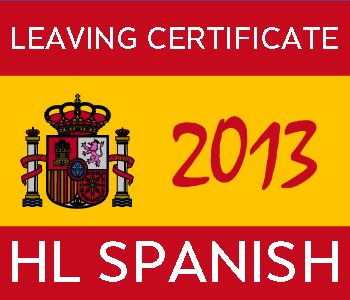 Leaving Certificate Spanish | Higher Level | 2013 Exam Paper Solution course image