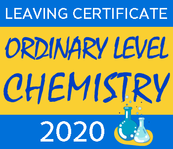Leaving Certificate Chemistry | Ordinary Level | 2020 Exam Paper Solution course image