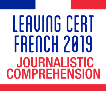 FRENCH MAY REVISION COURSE Part 1 - Journalistic Comprehension course image